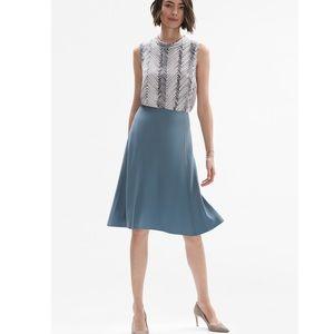 MM. Lafleur The Bushwick Skirt Blue